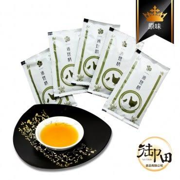 【御田】頂級黑羽土雞精品手作原味滴雞精(5入環保量販超值組)