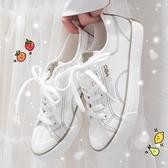 帆布鞋日系小白鞋女森系夏季薄款低筒帆布鞋女正韓百搭學生板鞋【快速出貨八折下殺】