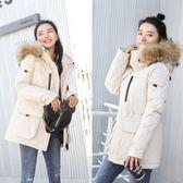 工廠批發價不退換防風保暖韓國東大門防寒服羽絨服女韓版加厚保暖情侶滑雪服款棉衣(1056A)