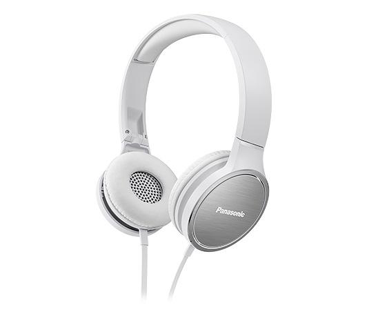 Panasonic HF500高音質耳罩式有線耳機-白 RP-HF500MGCW