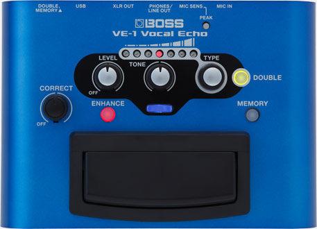 凱傑樂器 BOSS VE-1 VOCAL ECHO 錄音室等級 人聲效果器