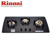 【林內】 RB-3GMB 檯面式美食家三口爐黑玻璃 - 桶裝瓦斯