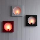 壁燈 現代簡約藝術創意led過道臥室客廳書房鐵藝床頭陽臺樓梯 - 古梵希