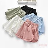 女童短褲外穿1-3小童夏裝兒童運動褲嬰兒薄款夏季5兩歲女寶寶褲子 店慶降價