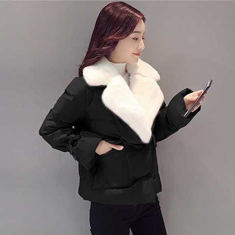 快速出貨 鋪棉外套 短款棉服女 秋冬裝ins棉衣冬季女士寬鬆外套學生羽絨棉襖