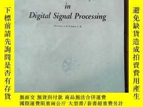 二手書博民逛書店number罕見theory in digital signal processing(P2842)Y1734