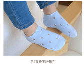 韓風童品3 雙組女童糖果色薄棉襪兒童鏤空隱形襪子寶寶棉質網眼襪洞洞襪