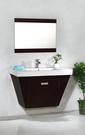【台灣吉田】L-8600 100cm 浴櫃盆 厚邊盆