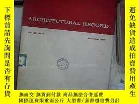 二手書博民逛書店ARCHITECTURAL罕見RECORD 建築實錄 1967 11 NO 5Y180897