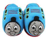 【卡漫城】 Thomas 絨毛 拖鞋 20/22CM ㊣版 毛拖 室內鞋 保暖 舒適 湯瑪士 小火車 蒸汽火車頭 兒童