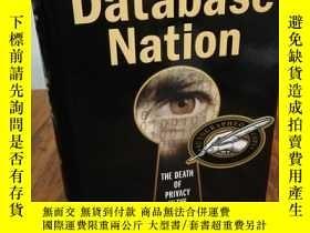二手書博民逛書店Database罕見Nation: The Death of P