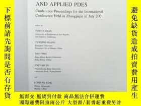 二手書博民逛書店Recent罕見Progress in Computational and Applied PDEsY1774