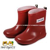 日本 stample 紅色 兒童雨靴 / 雨鞋 (附鞋墊) NO. Q9896