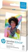 HP Sprocket Plus ZINK 2.3x3.4吋 相紙(20張)
