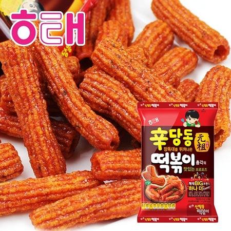 韓國 HAITAI 海太 元祖 辣炒年糕餅乾 103g 辣炒年糕 年糕餅 年糕餅乾 餅乾 團購 零嘴