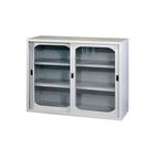 【YUDA】4*3 玻璃拉門 鐵櫃H型 文件櫃/展示櫃/公文櫃