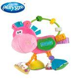 澳洲Playgro-粉紅小馬搖鈴固齒器 大樹