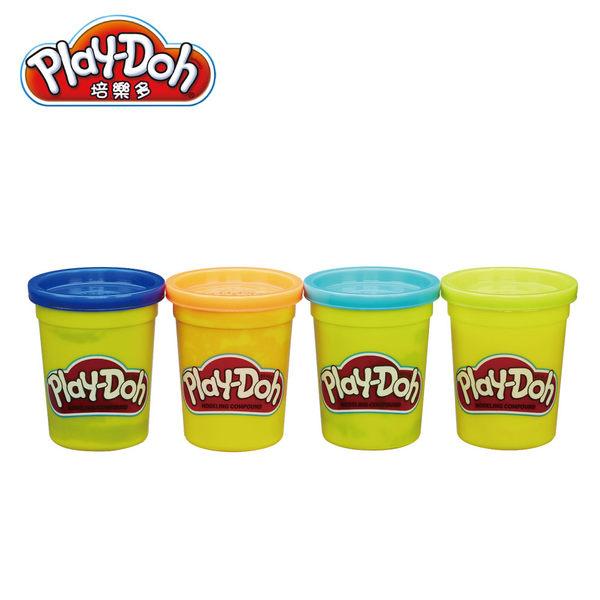 Play-Doh培樂多-黏土補充罐四色組-小丑魚
