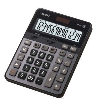 義大文具~CASIO卡西歐 DS-3B 商用專業型14位計算機 / 台 (同DS-3TS)