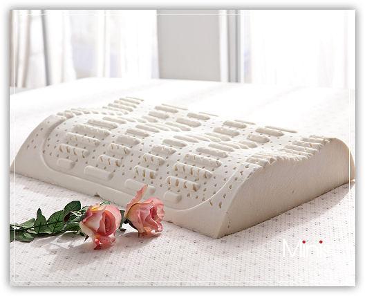 MiNiS 100%天然乳膠枕 功能枕專利型 護背功能