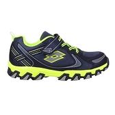 LOTTO 男防潑水越野跑鞋(慢跑 登山 運動 反光≡體院≡ LT0AKR2705