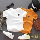 男童短袖t恤寶寶小孩男孩T恤純棉夏裝體恤上衣薄款兒童短袖洋氣潮