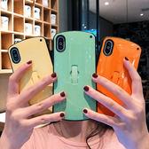 簡約純色蘋果X手機殼iphone8/7plus/6s軟殼套男女XR/Xsmax