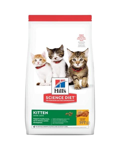 【寵愛家】Hill's希爾思 幼貓雞肉配方4KG
