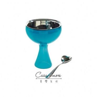 Alessi 冰淇淋碗匙組 藍色