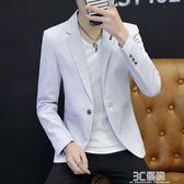 2018春季西裝男韓版修身外套男裝小西服青年單西休閒上衣 3c優購
