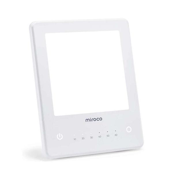Miroco 光燈 10000 Lux亮度 計時器功能 觸摸控制 可折疊直立支架 [9美國直購]