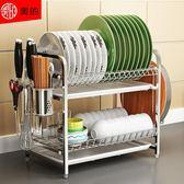 瀝水架 304不銹鋼廚房碗架瀝水架碗筷碗碟架瀝碗架放盤用品收納盒置物架