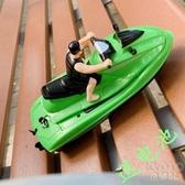遙控快艇 兒童遙控摩托艇寶寶戲水洗澡游輪電動船模馬達玩具噴水摩托車快艇 京都3CYJT