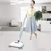 電動拖把掃地一體機無線家用手推拖地機擦地機器人噴水無蒸汽拖把         艾維朵
