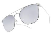 PAUL HUEMAN 水銀太陽眼鏡 PHS1105A C02 (銀) 韓系流行白水銀款 # 金橘眼鏡