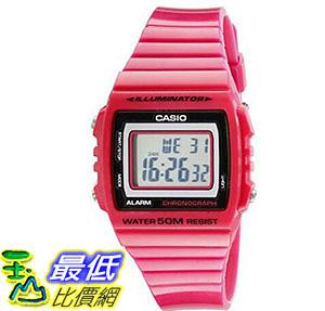 [美國直購] 手錶 Casio Kids W215H-4A Classic Digital Stop Watch