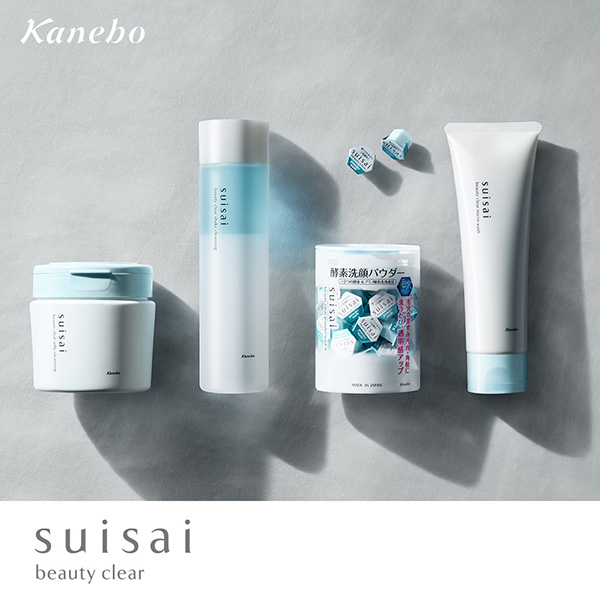 Kanebo 佳麗寶 suisai毛孔淨透卸妝+潔顏+敷臉一次到位組