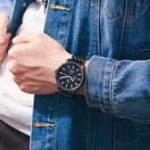 男士手錶正韓防水石英男錶款正韓學生精鋼帶休閒時尚石英錶非機械 森雅誠品
