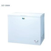 台灣三洋 306公升臥式冷凍櫃 SCF-306W ◆全機鐵殼防火設計