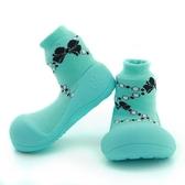 韓國 Attipas 快樂腳襪型學步鞋-蒂芬妮貴婦