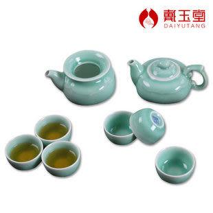 青瓷茶具 蓮年如意二色