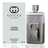 Gucci Guilty 罪愛男性淡香水 90ml Tester 包裝