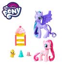 ★電影版特別角色造型與第六季卡通角色造型 ★包含一個配件與個一3吋小馬 ★適合年齡:3歲以上