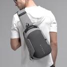 胸包男士新款正韓潮大容量背包商務休閒多功能出差旅游單肩斜挎包