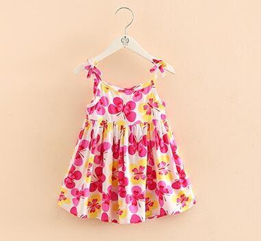 夏裝韓版公主女童童裝裙子 寶寶兒童吊帶洋裝子