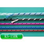 KSS KS-15BK 捲式結束帶(PE)  黑 10M