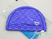 *日光部屋* arena (公司貨)/ARN-6407-RBLU 2WAY 舒適矽膠泳帽