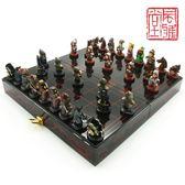 象棋三國人物象棋送老外的中國風特色禮物 交換禮物