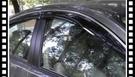 【車王汽車精品百貨】Toyota Camry 加厚 無限款 晴雨窗 電鍍晴雨窗 黑色壓克力 電鍍條