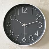 掛鐘 靜音鐘錶掛鐘客廳家用時尚時鐘掛墻簡約大氣創意個性錶北歐石英 易家樂